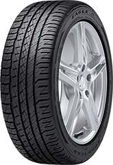 Goodyear Eagle<sup1>MD</sup1> F1 Asymmetric All-Season SoundComfort Technology<sup1>MD</sup1>