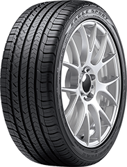 Goodyear Eagle<sup1>MD</sup1> Sport All-Season SoundComfort Technology<sup1>MD</sup1>
