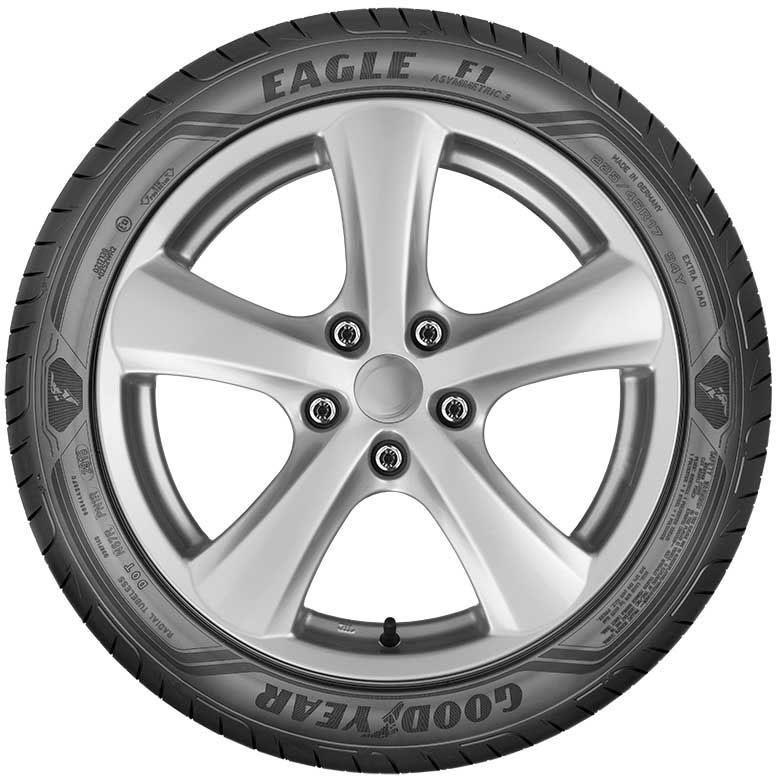 Goodyear Eagle<sup>MD</sup> F1 Asymmetric 3 SoundComfort Technology