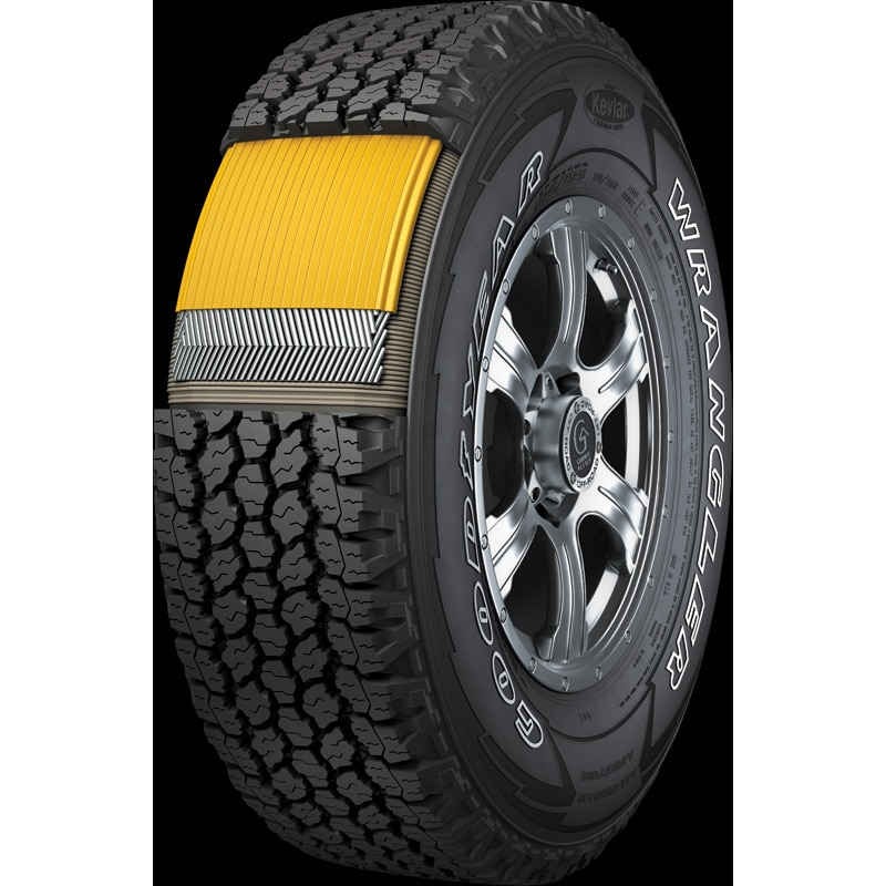 Goodyear Wrangler<sup>MD</sup> All-Terrain Adventure avec Kevlar<sup>MD</sup>